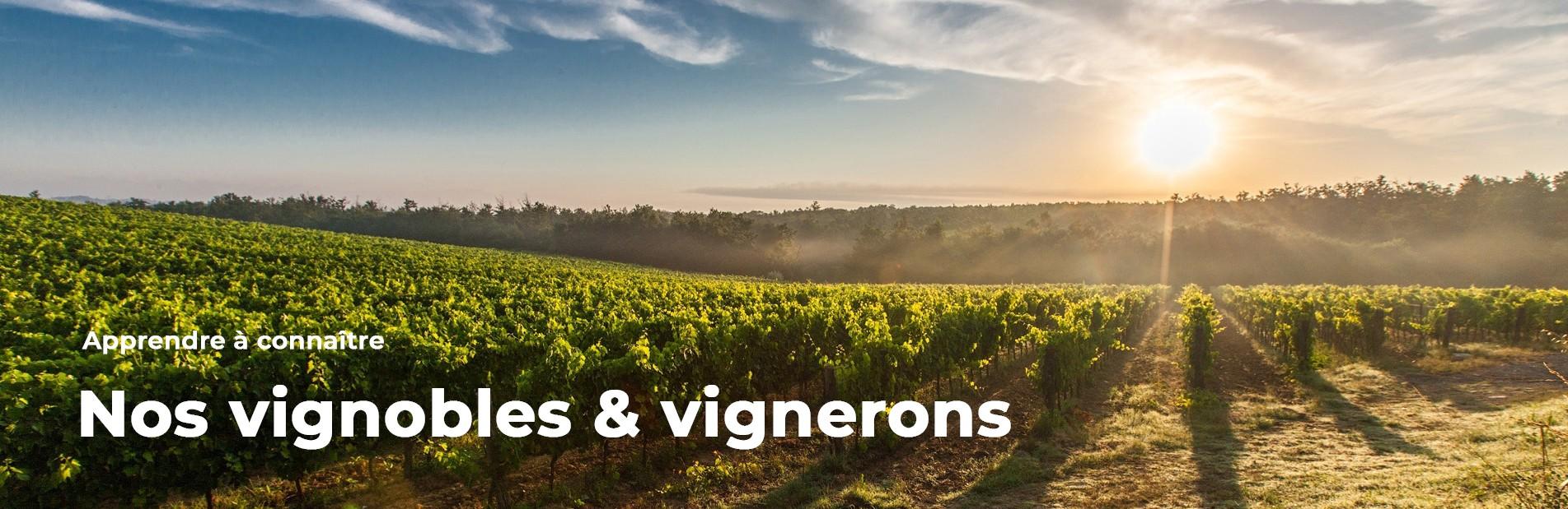 Nos vignobles & vignerons